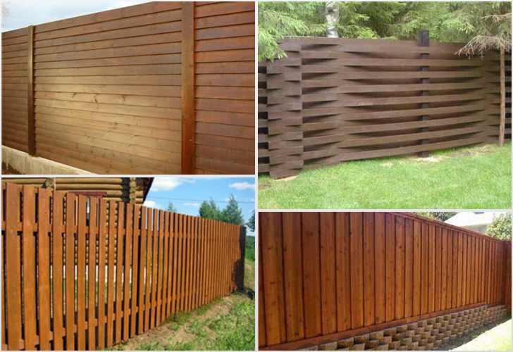 Как сделать деревянный забор своими руками и фото