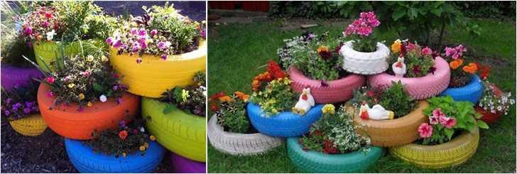 Картинки по запросу многоуровневая клумба в саду